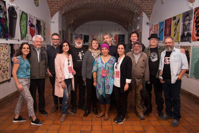 Jury member of the International Poster Biennial of Bolivia | 2017