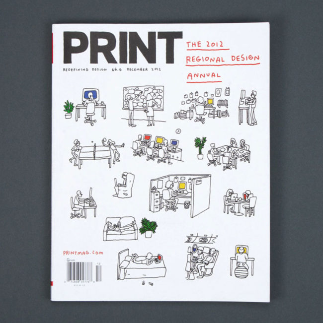 Steven Heller's interview with Parisa Tashakori in Print magazine | 2014