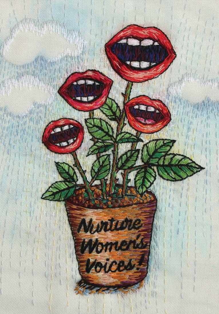 Nurture women's voices!   2017