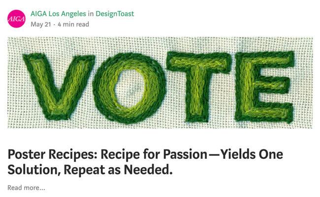 Poster recipe by Parisa Tashakori | 2020